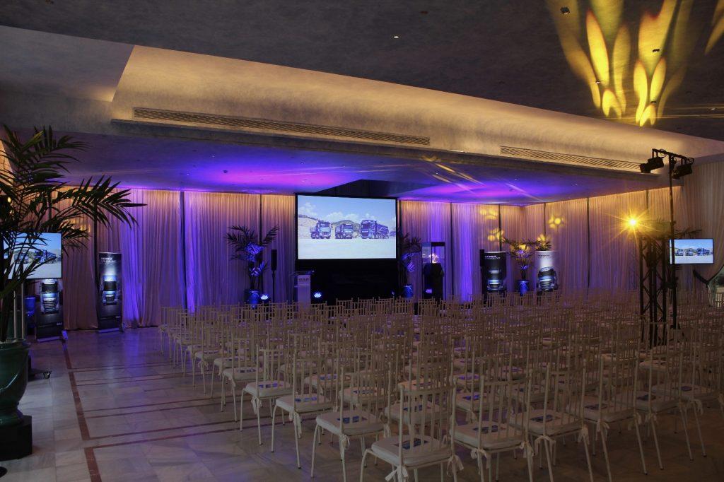 Iluminación Para Eventos en Sevilla con LED.