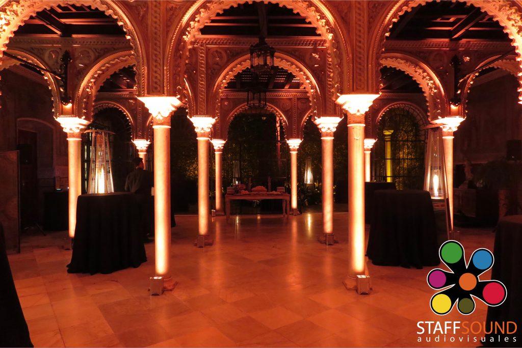 iluminación para bodas sevilla