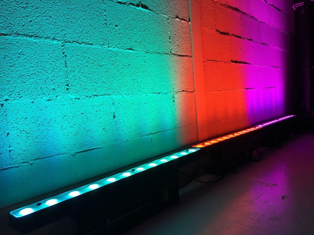La mejor empresa de iluminación LED en Sevilla para eventos.
