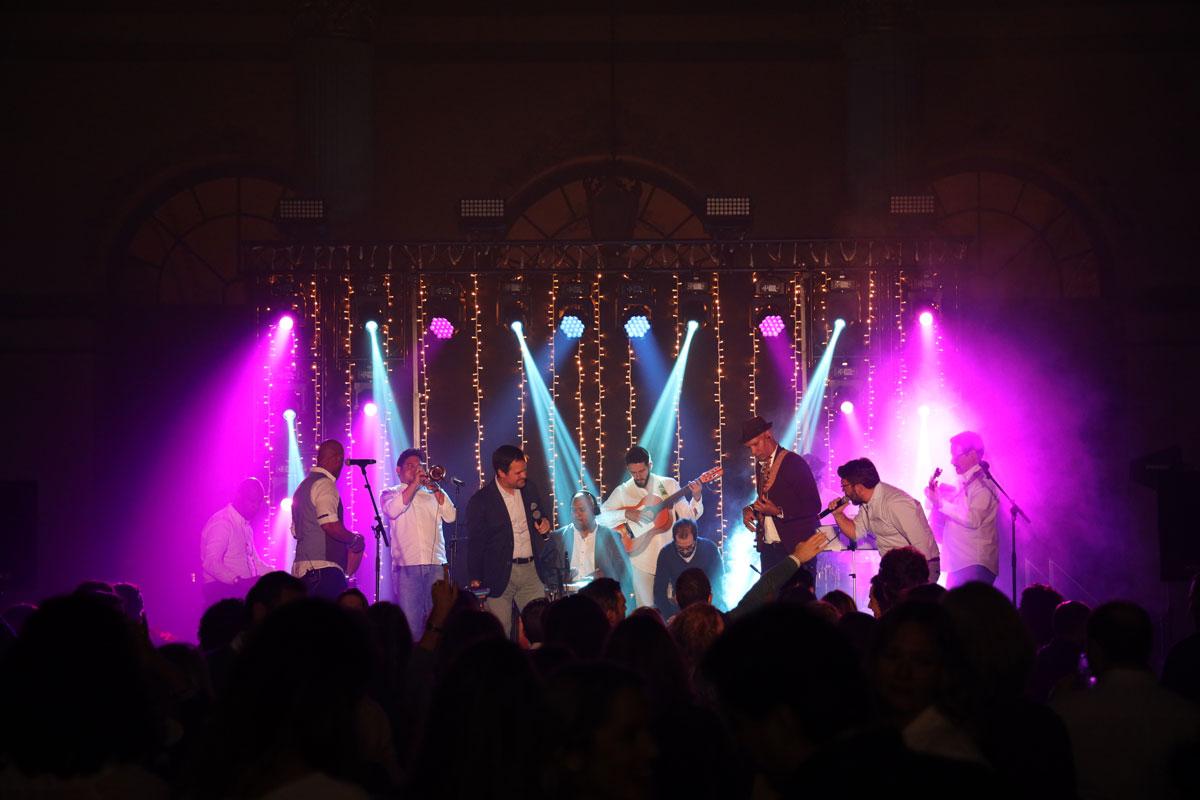 iluminación para conciertos y eventos en Sevilla