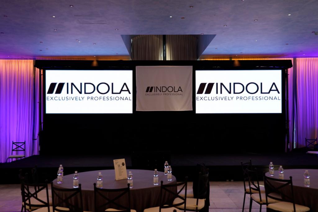 Evento montado por Staffsound Audiovisuales con pantallas LED